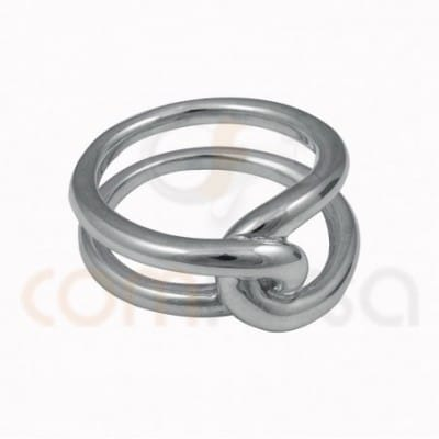 Double knot thread ring...