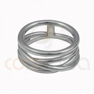 Interlated 4 wire ring...