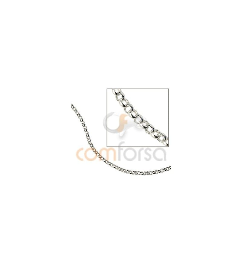 a80aac271fb thin round belcher chain 2.6 mm Sterling silver 925 Rolo Chains sold ...