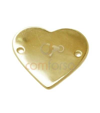 Engraving + Heart Pendant 20x17mm (alloy)
